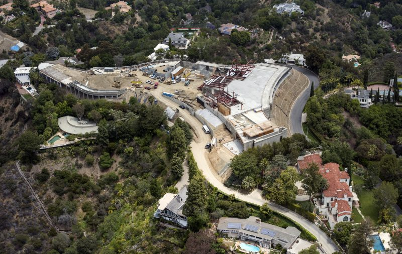 Most Expensive Home Ever Being Built in Bel Air